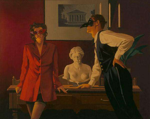 Jack Vettriano- The Sparrow and the Hawk | Limited Edition | Free UK Delivery