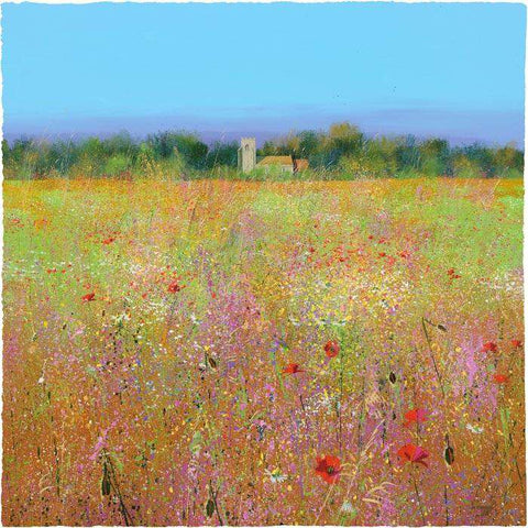 Paul Evans Through the Meadow Signed and Numbered Limited Edition Giclee Print Mounted