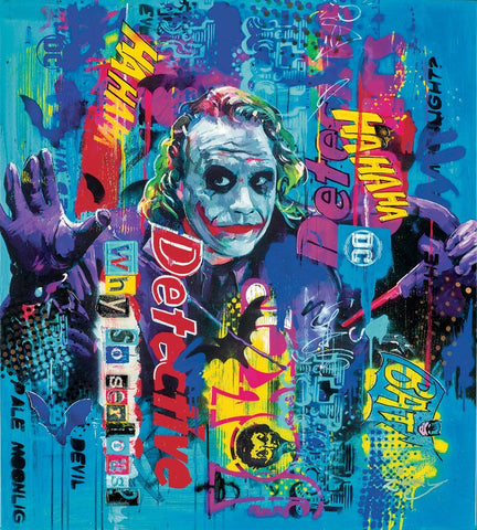 Zinsky Why so serious the Joker art new release