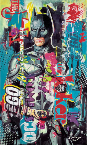 Zinsky pop art Batman Ever danced with the devil new release