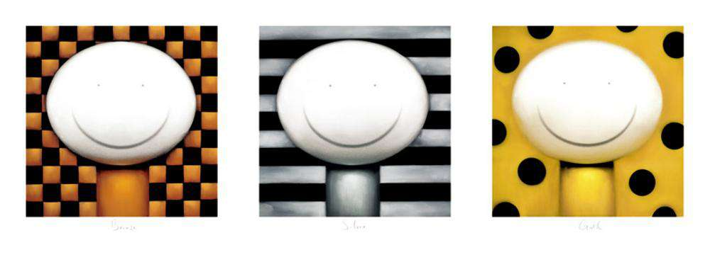 Doug Hyde Bronze Silver Gold mounted art print