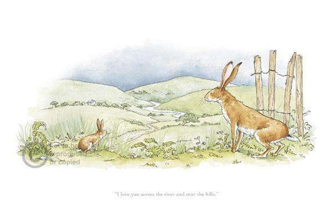 Anita Jeram-Guess How Much I Love You, I Love You Across the River