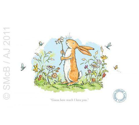 Anita Jeram Guess how much I love you Daisy mounted