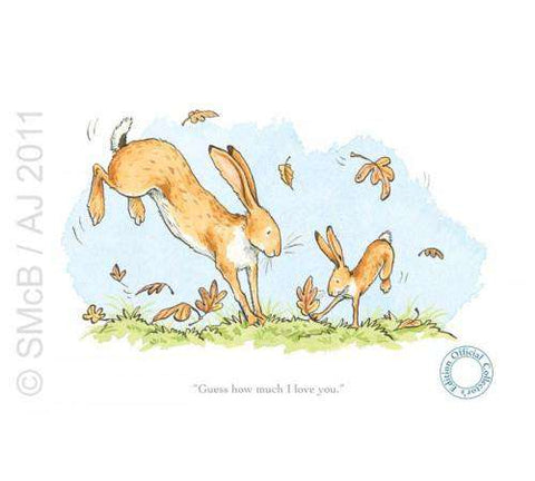 Anita Jeram Guess how much I love you leaves
