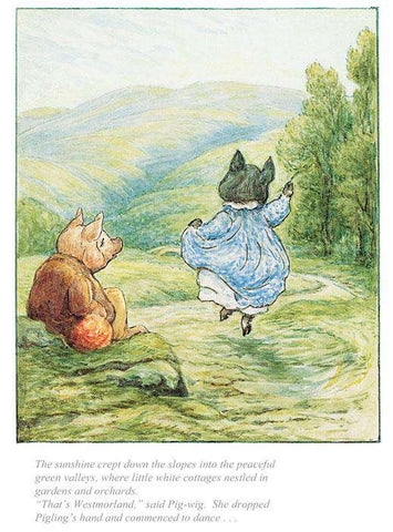 Beatrix Potter That's Westmorland Said Pig-Wig