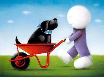 Doug Hyde Daisy Trail Art Print Edition size limited to 395