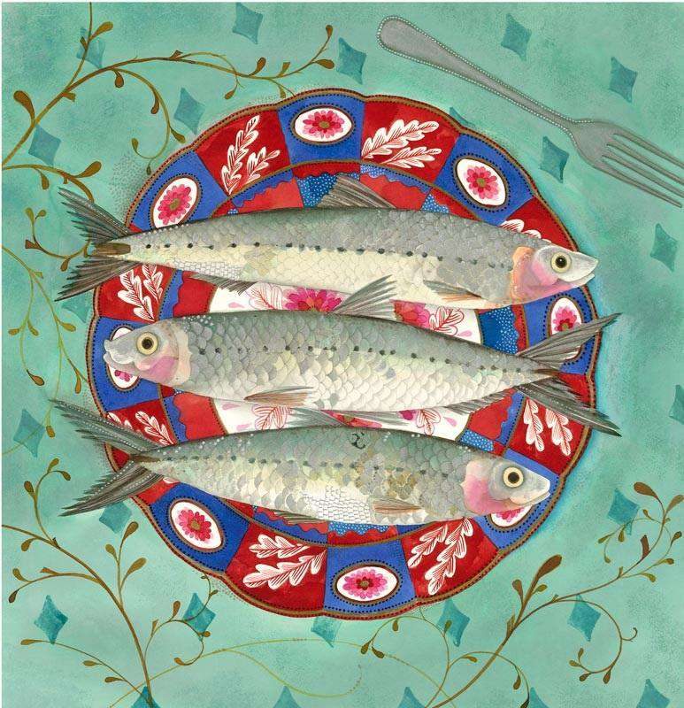 Jane Ray Three Little Fishes