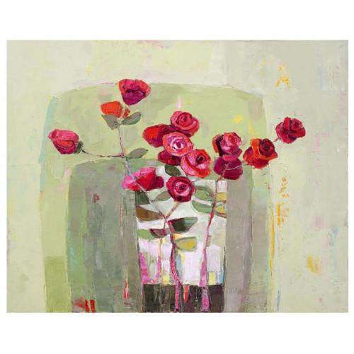 Kirsty Wither In Flower mounted