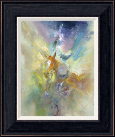 Tabitha Salmon White Blaze framed