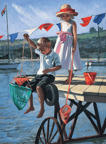 Sherree Valentine Daines Fishing From the Jetty