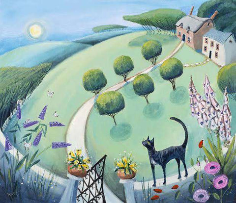 Carolyn Pavey Top Cat mounted