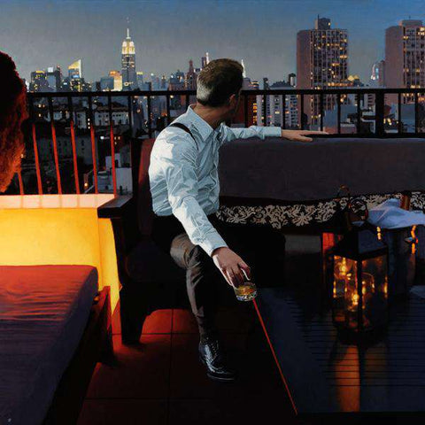 Iain Faulkner NY View limited edition print