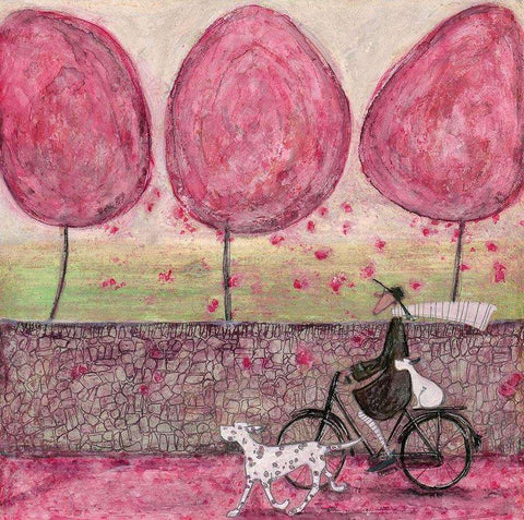 Sam Toft A Pink Day signed & numbered art print