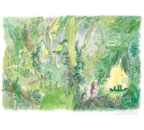 Sir Quentin Blake The Green Ship