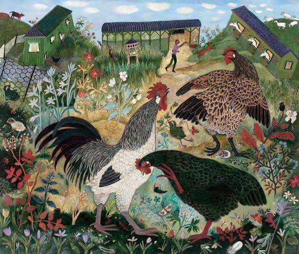 Anna Pugh Small Holding mounted