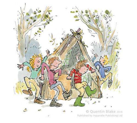 Sir Quentin Blake Round and Round the den