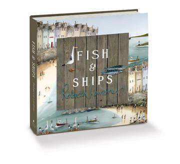 Rebecca Lardner's 'Fish & Ships' hardbacked book