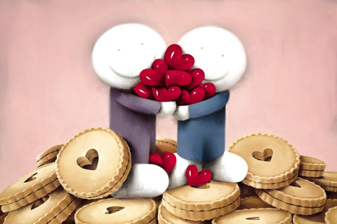 you've stolen my heart jammie dodgers smile hug share