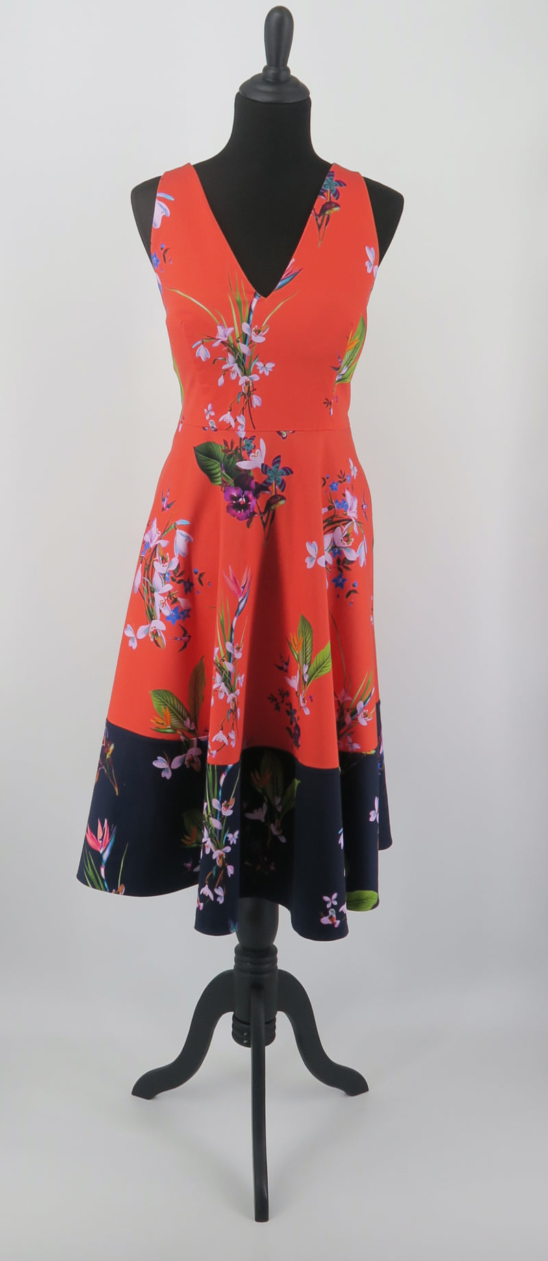 Ted Baker Hummingbird Spring Floral Dress