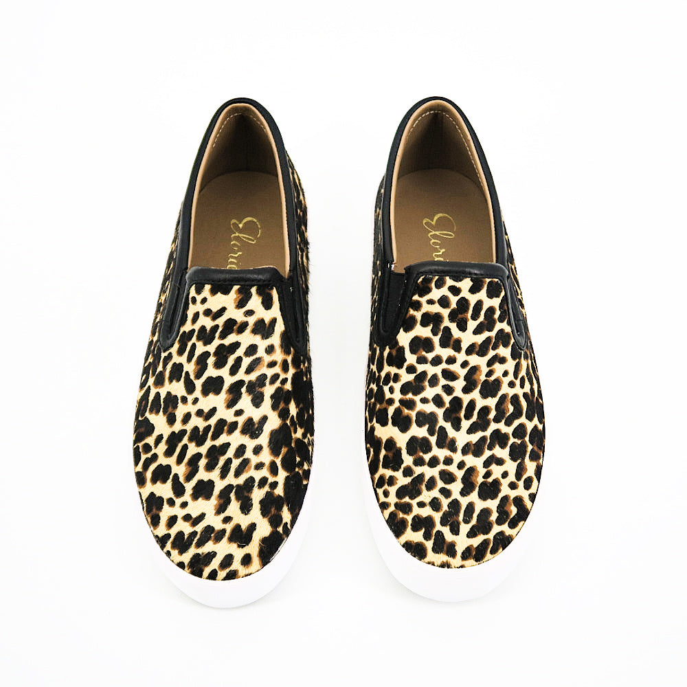 Elurie Leopard Sneakers - Sachy's Closet