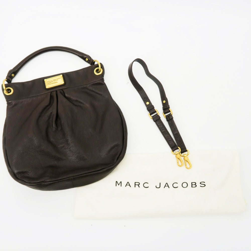 Marc by Marc Jacobs Leather Hobo Simple
