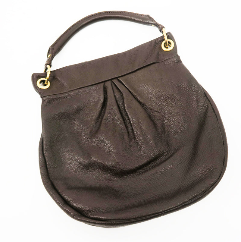 Marc by Marc Jacobs Leather Hobo Simple - Sachy's Closet