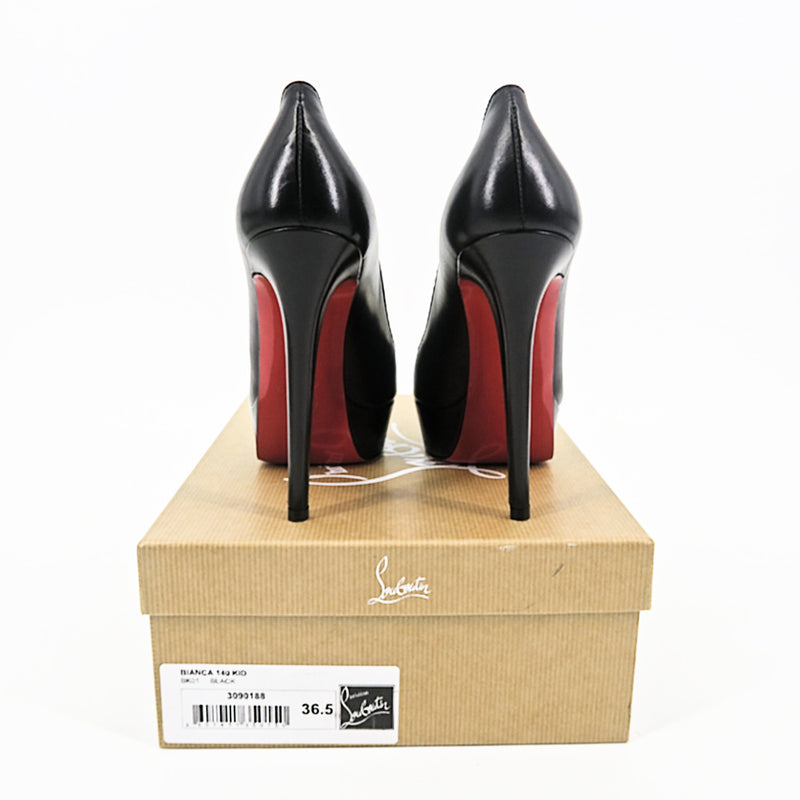 Christian Louboutin Bianca Pumps - Matte Black