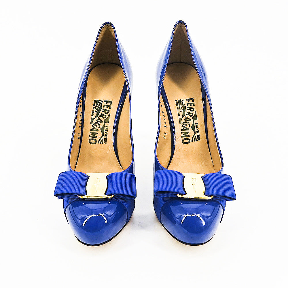 Salvatore Ferragamo Vera Bow Pumps