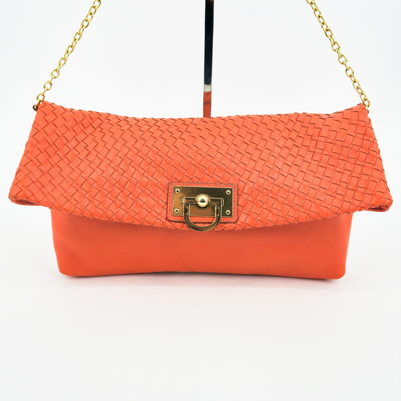 Banana Republic Leather Clutch - Sachy's Closet
