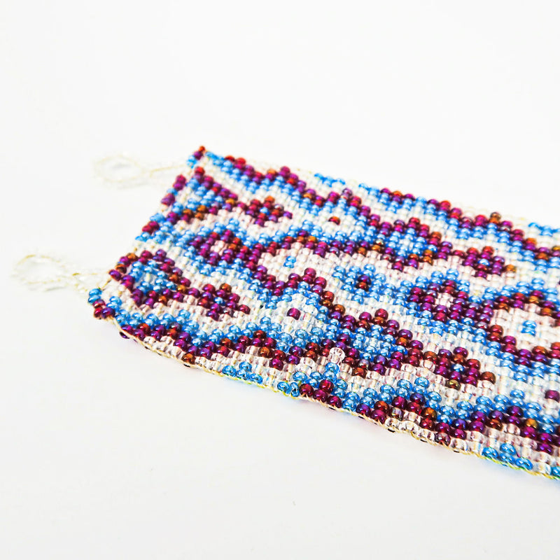 Mexican Huichole Beaded Bracelet - Sachy's Closet