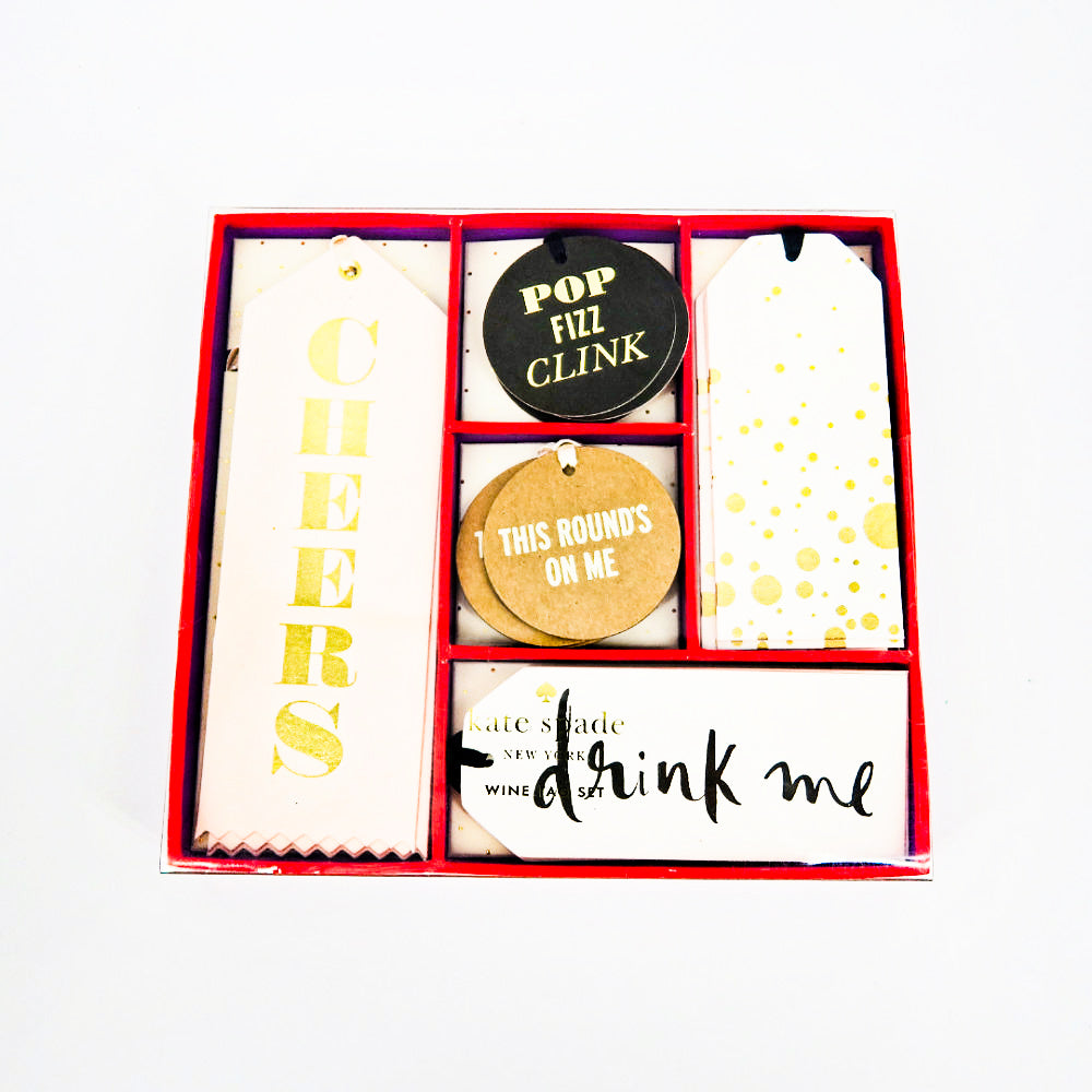 Kate Spade Cheers! Wine Set