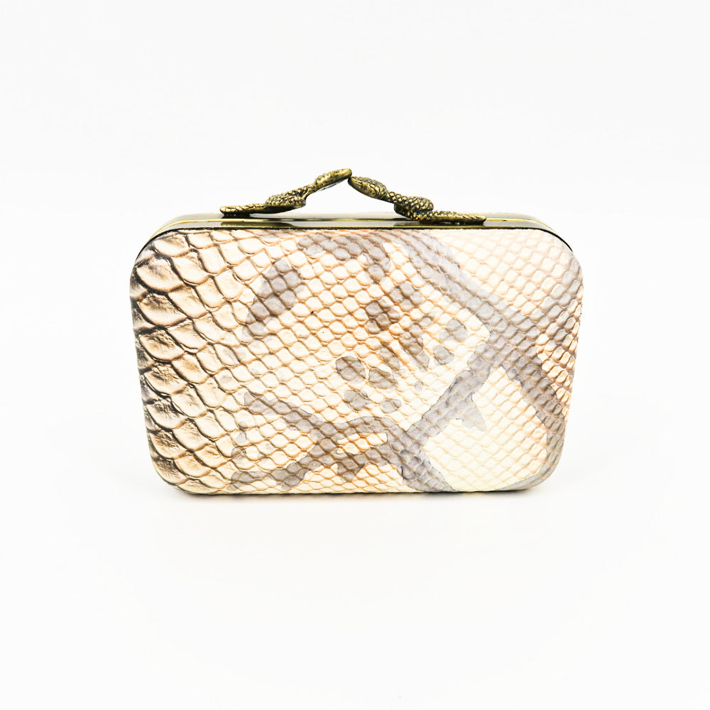 House of Harlow 1960 Snake Clutch - Sachy's Closet