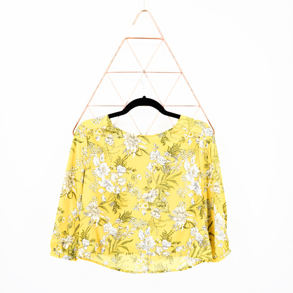 Forever21 Spring Blouse - Sachy's Closet