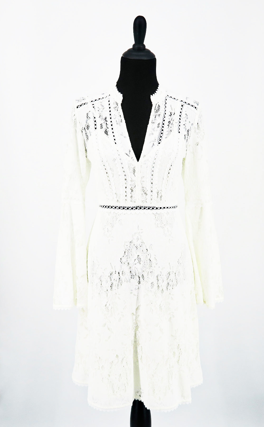 BCBG Lacey Long Sleeve Dress - Sachy's Closet