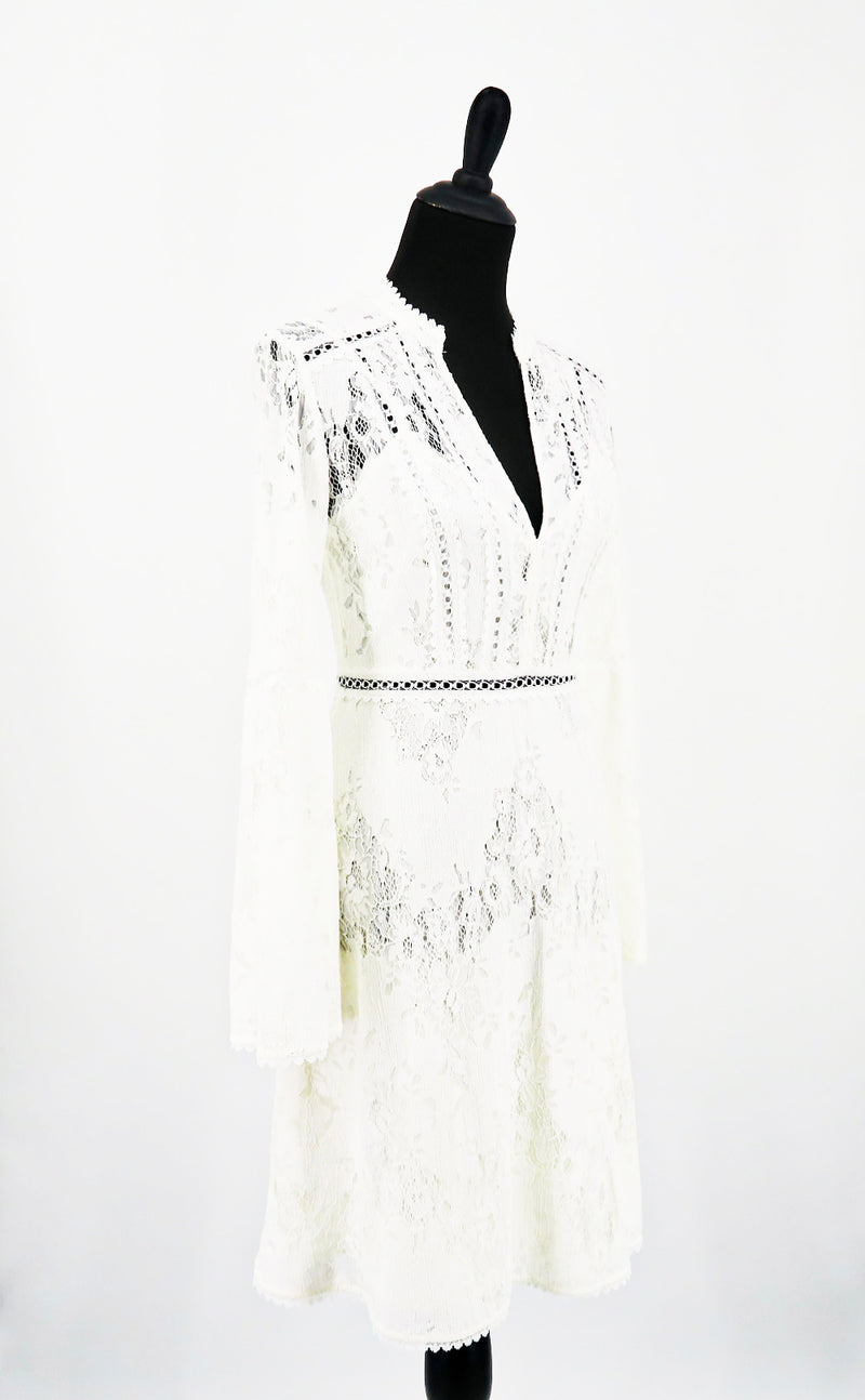 BCBG Lacey Long Sleeve Dress
