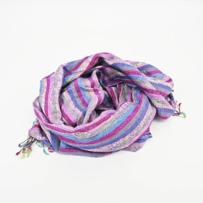 SCTB Shades of Purple Pashmina