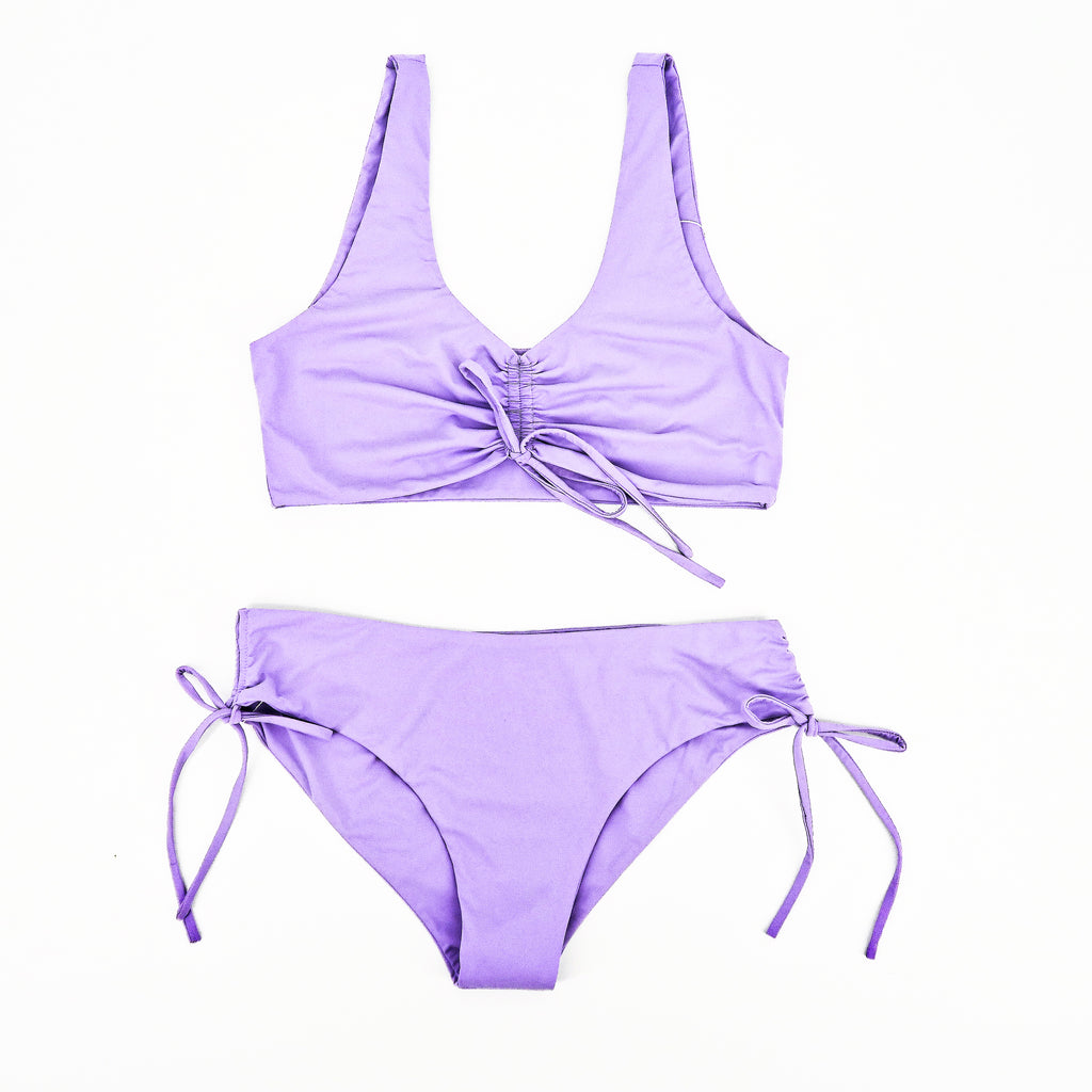 Slate Swim Vela Top & Bottom - Sachy's Closet