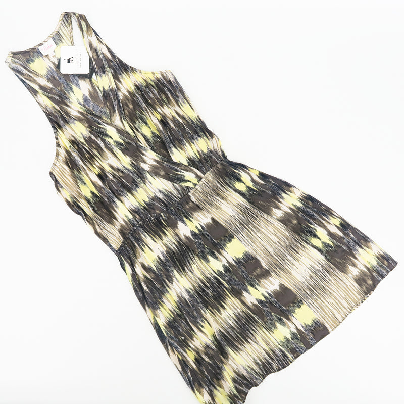 Parker Silk Racer-back Dress - Sachy's Closet