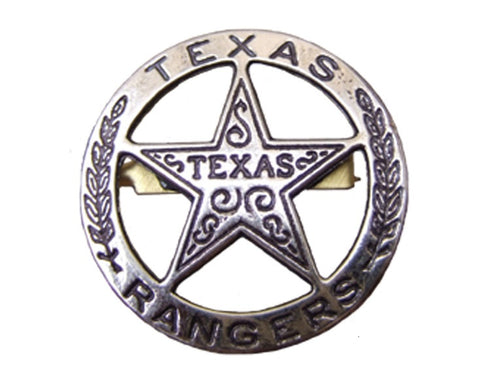 PLACA DE TEXAS RANGER