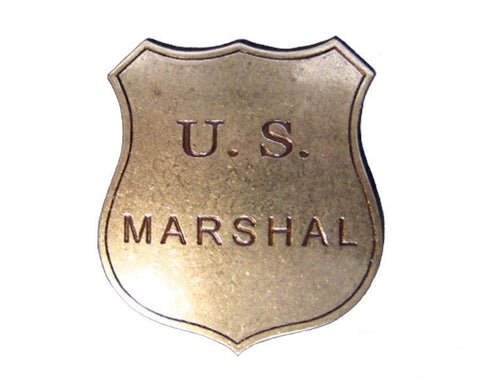 Placa Sheriff U.S Marshal