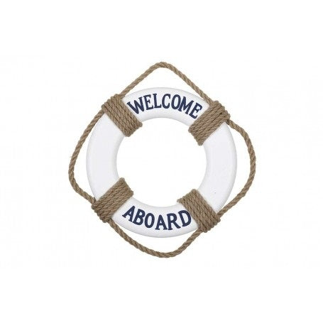 "SALVAVIDAS """"WELCOME ABOARD"""" 30 CM"