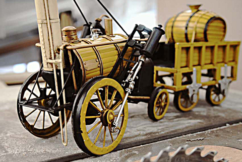 1829 YELLOW STEPHENSON ROCKET STEAM