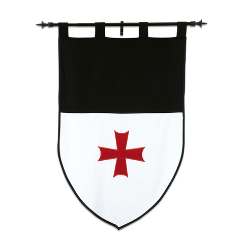 ESTANDARTE TEMPLARIO DOBLE