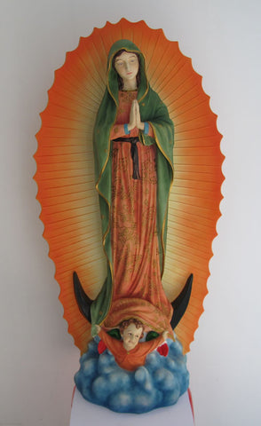 FIGURA The Virgin of Guadalupe Large Color