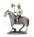 ARMOUR PEWTER PRUSSIAN WITH HORSE