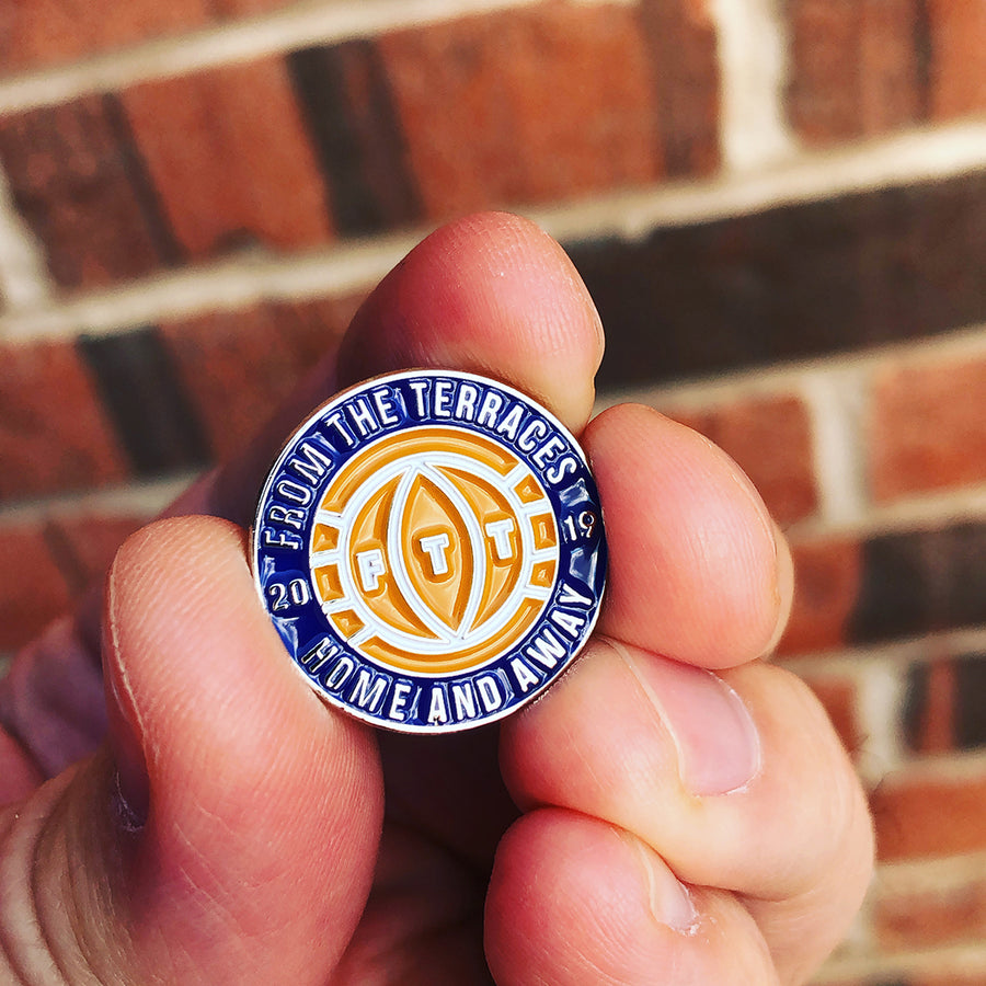 Home and Away Pin Badge - From The Terraces