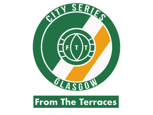 Glasgow City Series Tee - Green and White - From The Terraces
