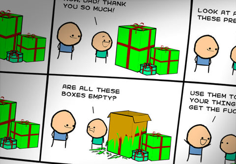 Cyanide & Happiness 18th Birthday Print (autographed)