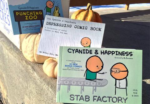 Cyanide & Happiness Mini Book Bundle Deal