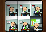 Cyanide & Happiness 9 to 5 Mousepad